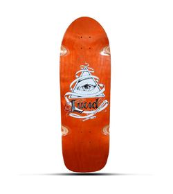 LUCID OLD SCHOOL BOARD ORANGE DECK 31 x 10