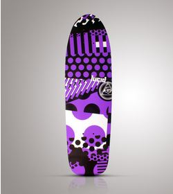 LUCID PURPLE CRUISER DECK 26.5 x 7.5