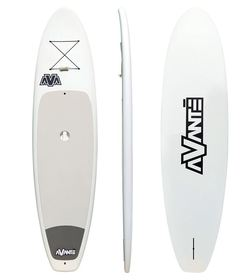AVANTE WHITE POLY SUP 10'6  + PADDLE + FIN & BUNGEE CORD