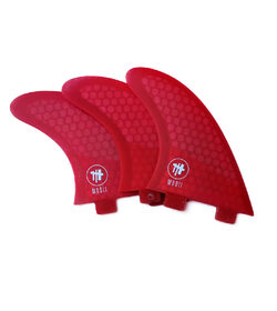 MODII:  SFK 3 FIN, THRUSTER - FCS  (Large size fins)