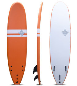 SHAKKA SOFTBOARD ORANGE 6'6""