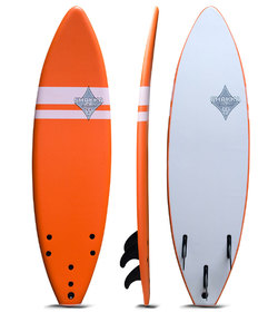 SHAKKA SOFT BOARD ORANGE 6'0""