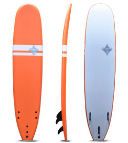 SHAKKA SOFTBOARD ORANGE 7'6