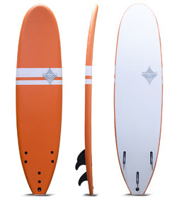 SHAKKA SOFTBOARD ORANGE 7'0""