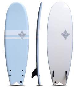 SHAKKA SOFT BOARD FISH BLUE 5'10""