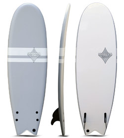 SHAKKA SOFT BOARD FISH GREY 5'10""