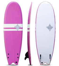 SHAKKA SOFT BOARD FISH PINK 5'10""