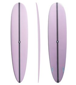PERFORMER MAL 9'1 ORANGE/WHITE EPS, EPOXY