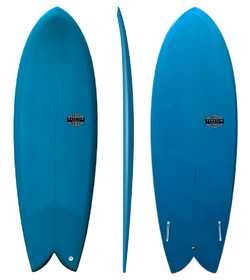 TWIN KEEL FIN - EPS EPOXY