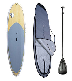 10'6 PACKAGE ALLROUNDER STAND UP PADDLE BOARD + BAG + PADDLE