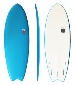 POCKET SOFTBOARD  FISH BLUE - FUTURE compatible